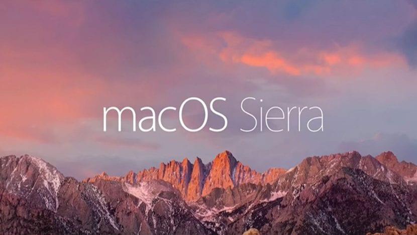 Escritorio Mac OS Sierra
