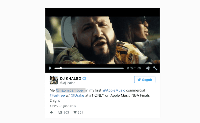 Khaled -anuncio-Apple-Music