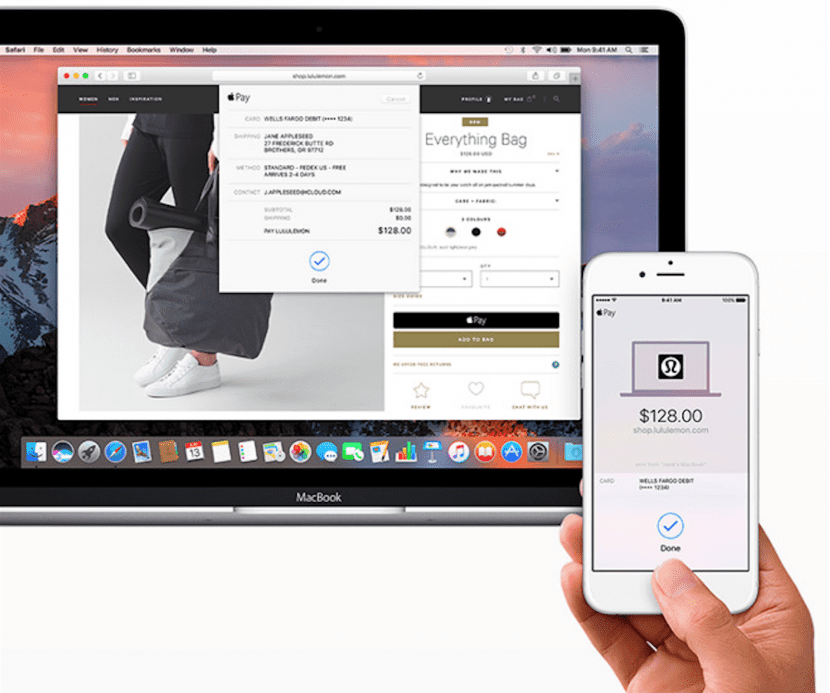 Apple Pay en Safari 10 y extensiones