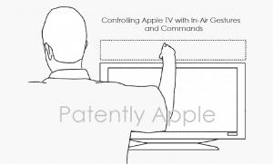 Patente de Apple para controlar Apple TV mediante gestos 3D