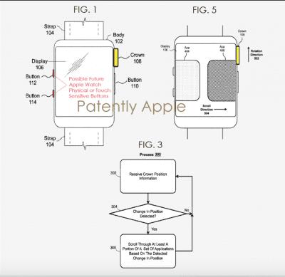 Apple Watch 2 patente