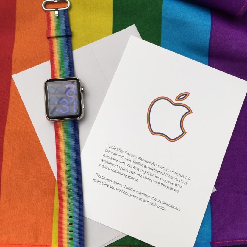 Correas del Orgullo para el Apple Watch