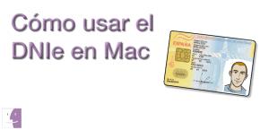 como usar el dnie en mac