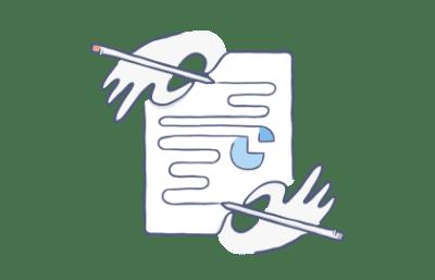 Simbolo colaborativo de DropBox