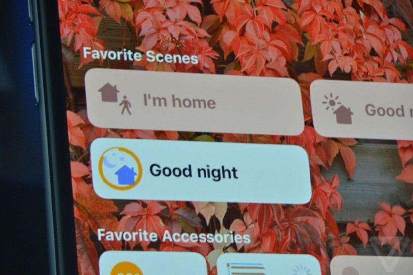 App Home en iOS
