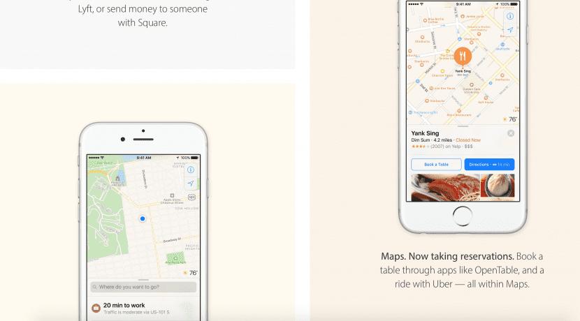 iOS10 Mapas
