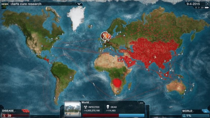 Plague Inc Evolved para Mac OS X en Steam