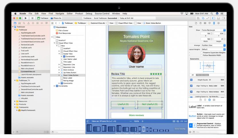 Xcode 8 para desarrolladores del entorno Apple