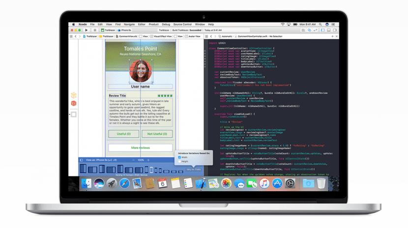 Xcode 8 para desarrolladores