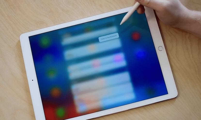 3D Touch podría llegar al iPad Pro con iOS 10