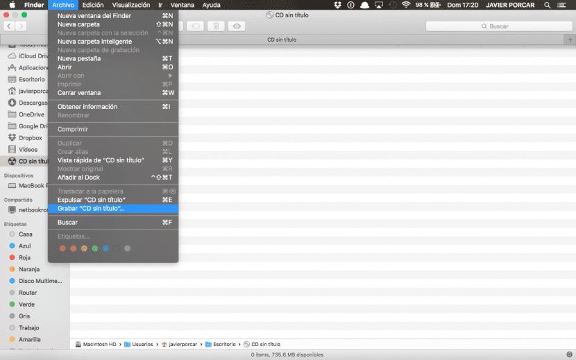 pantalla-finder-grabar-discos