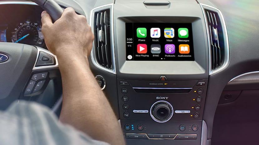CarPlay se incluirá en todos los vehículos Ford de 2017 equipados con la tecnología SYNC 3