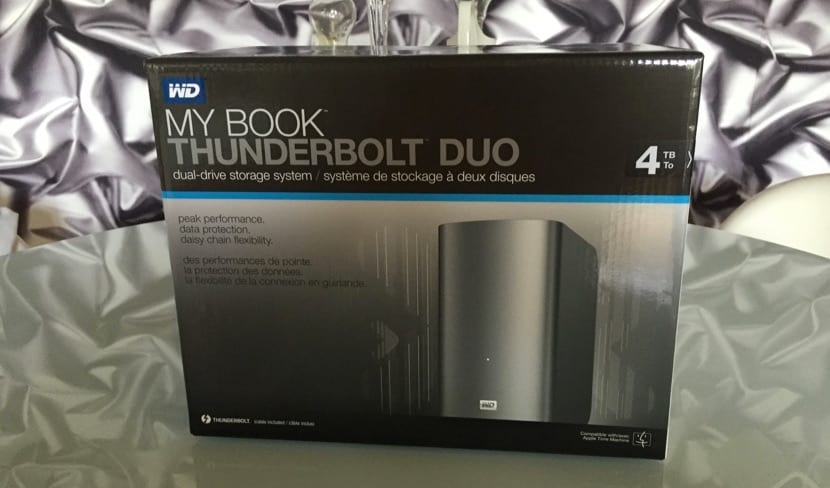 My Book Thunderbolt Duo