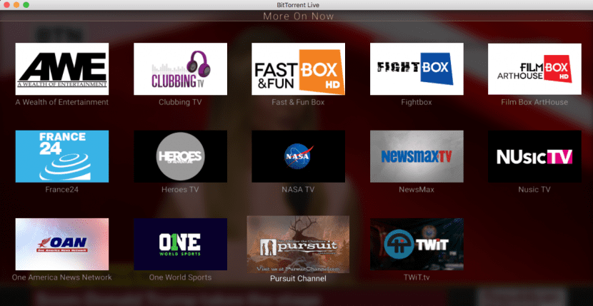 BitTorrent Live para Mac
