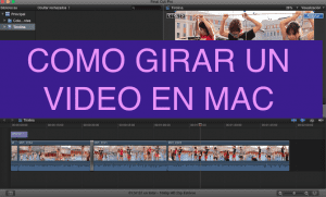 Portada de Post diferentes formas de Girar un video