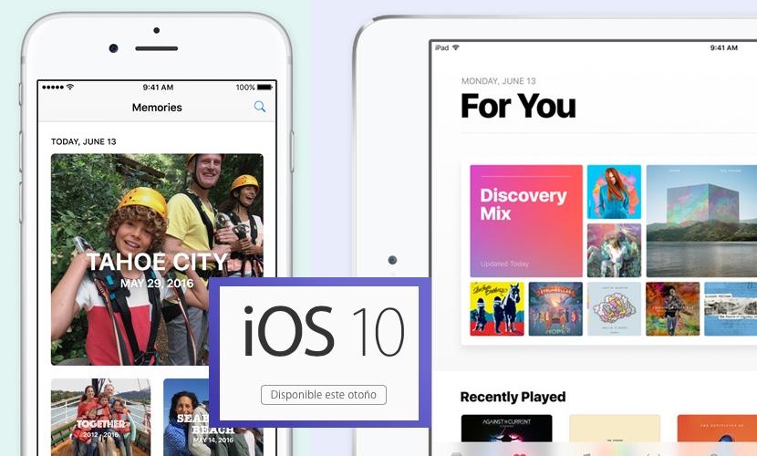ios 10 ipad iphone