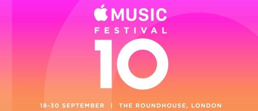 Apple anuncia el Apple Music Festival 2016 de Londres