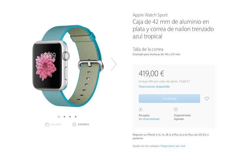 Apple-Watch-azul-agotado-correa-nueva