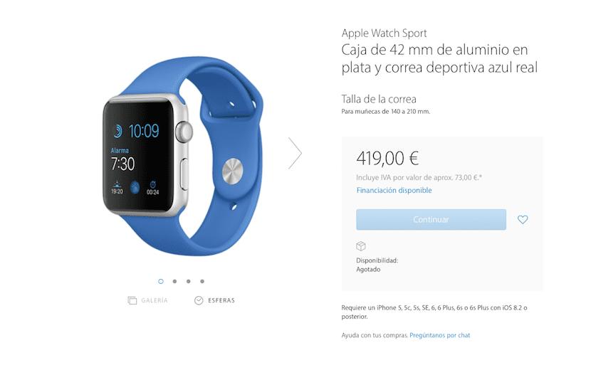 Apple-Watch-azul-agotado