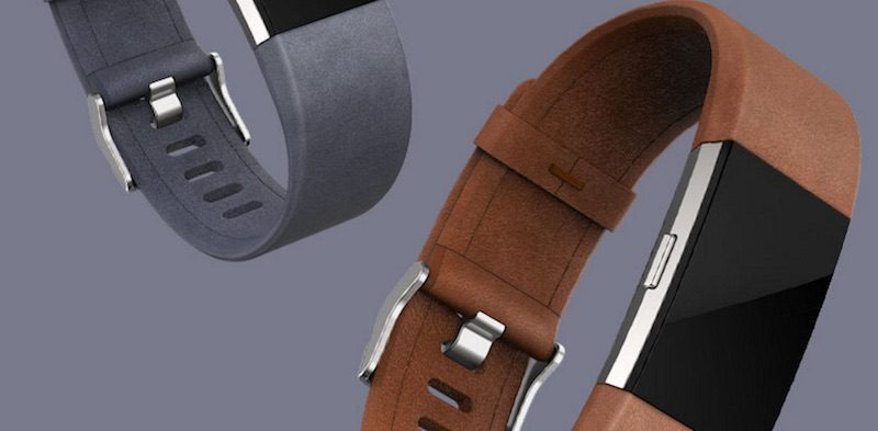 Correas de piel Fitbit Charge 2