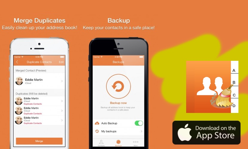 cleaner pro app contactos duplicados