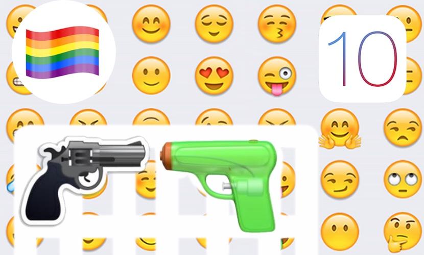 emoji ios 10 nuevo iphone