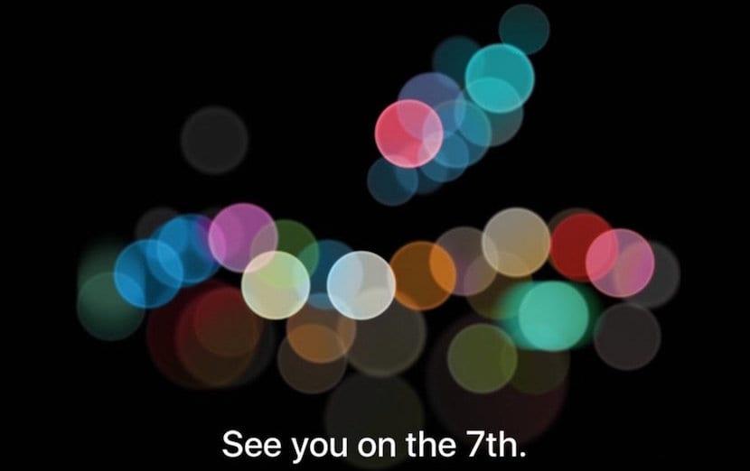 Apple anuncia la Keynote del iPhone 7 para el 7 de septiembre