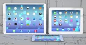 tipos de iPad