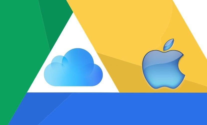 icloud drive google apple ios