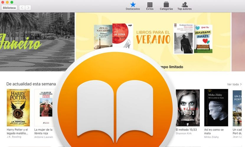 mac ibooks store organizar biblioteca