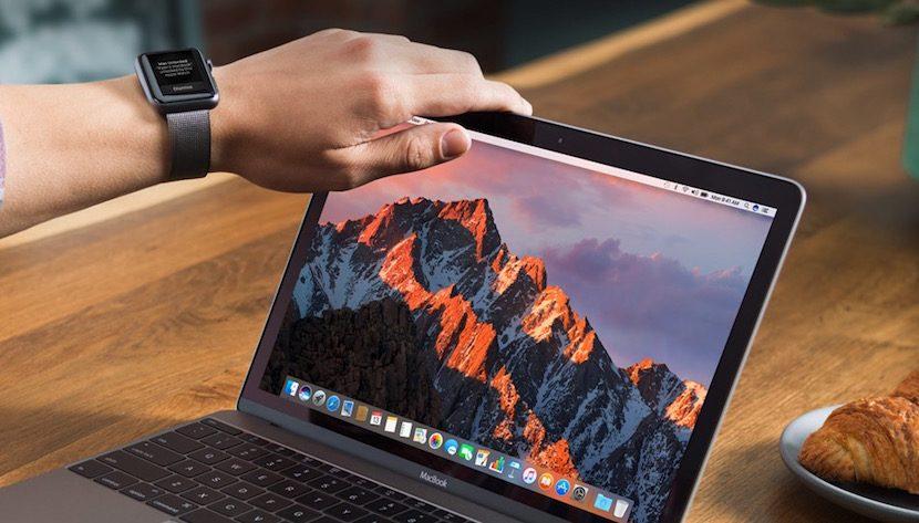 Desbloqueo automático de Mac con un Apple Watch cerca