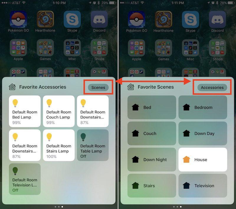 Como usar el nuevo Centro de Control de iOS 10 (II)