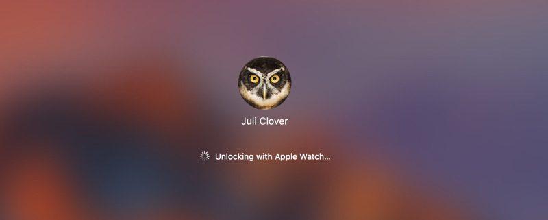 Desbloqueando el Mac desde el Apple Watch