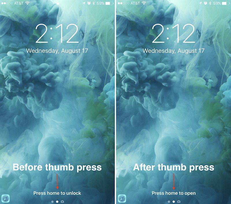 Cómo utilizar la nueva pantalla de bloqueo de iOS 10 (II)