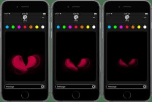 Cómo utilizar Digital Touch en Mensajes con iOS 10 (II)