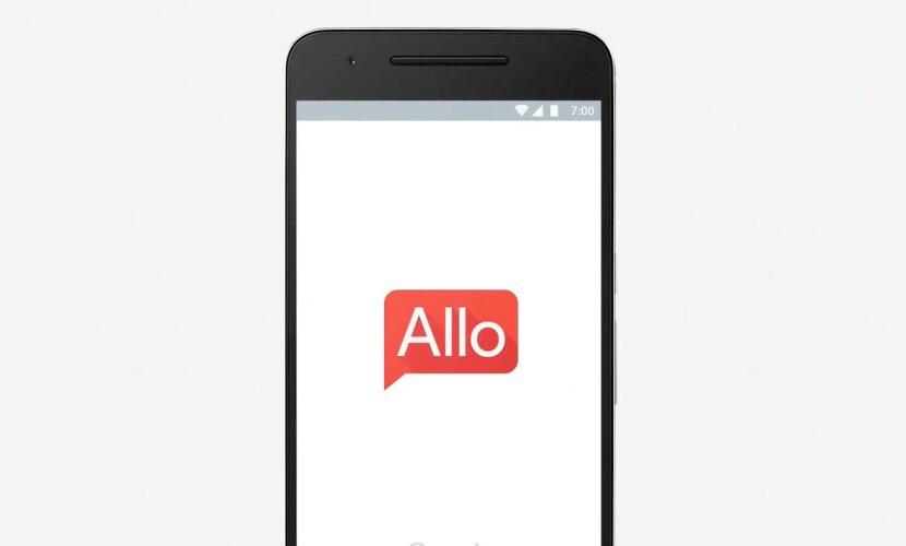 Google algo, iOS, mensaje