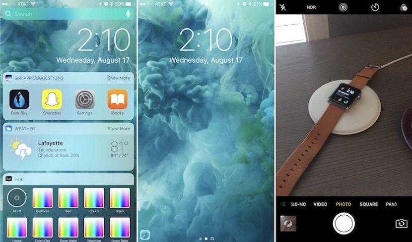 Cómo utilizar la nueva pantalla de bloqueo de iOS 10