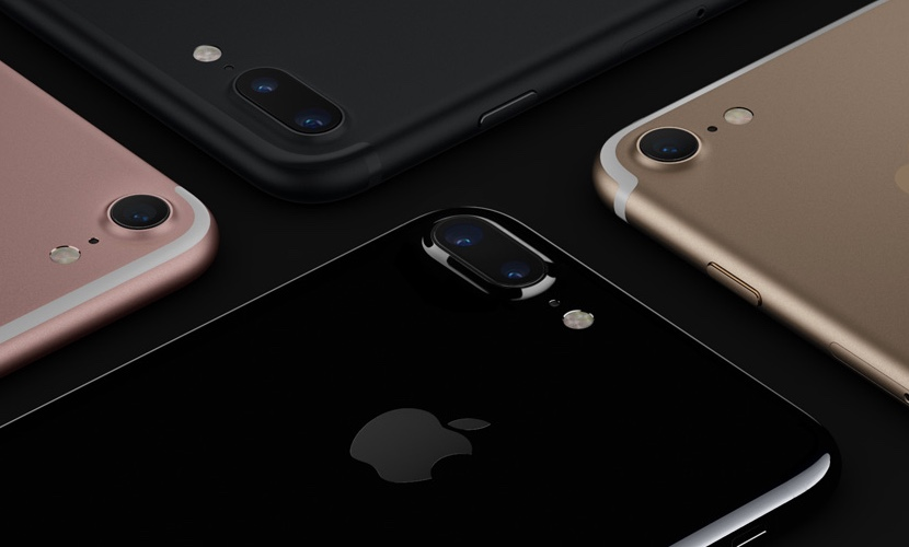 iPhone 7 almacenamiento negro brillante plus