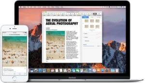 Aprende a utilizar el portapapeles universal de macOS Sierra