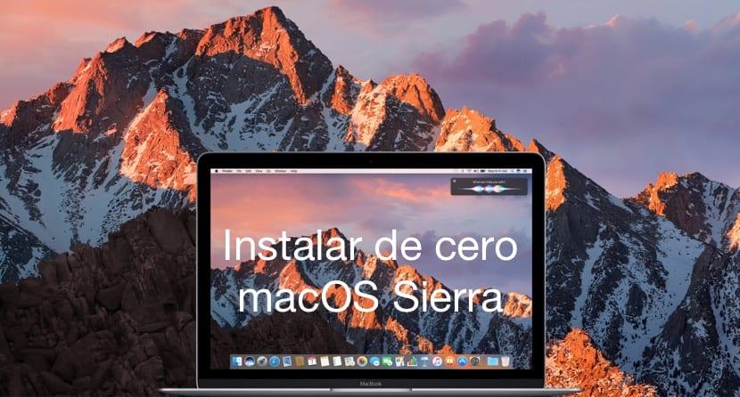 Cómo instalar macOS Sierra 10.12 desde cero, paso a paso
