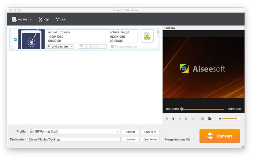 Video to GIF Maker gratuito por tiempo limitado