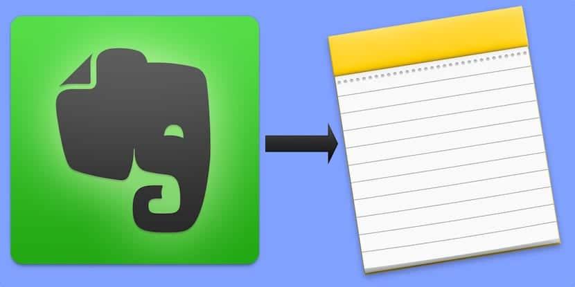 Cómo migrar tus notas de Evernote a Notas de Apple sin ayuda externa