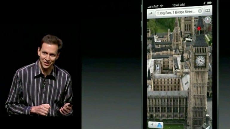 Scott Forstall lideró el equipo de desarrollo de Apple Maps