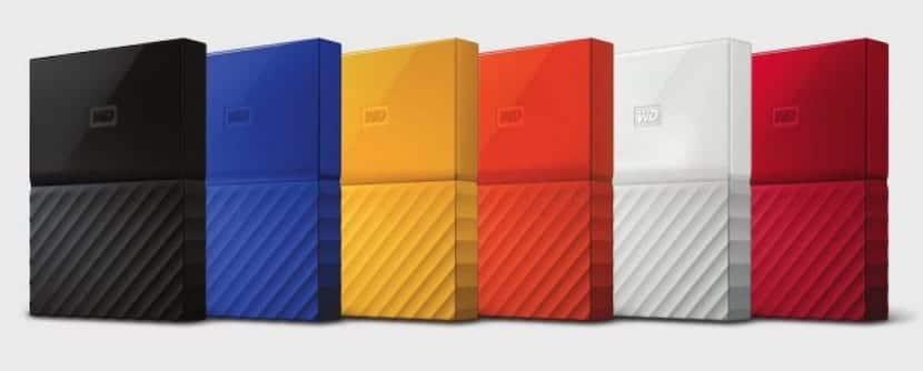 Western Digital renueva su gama de discos duros externos