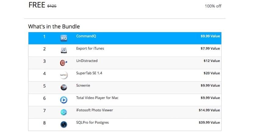 Bundle de 8 aplicaciones completamente gratis