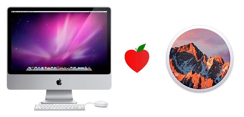 iMac 2008 y macOS Sierra