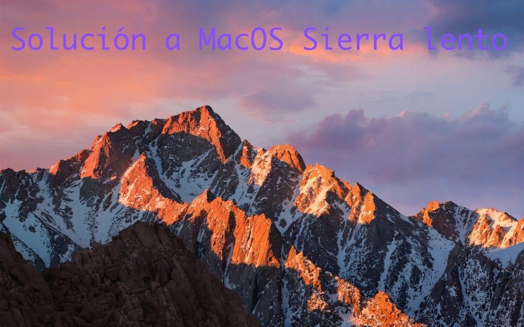 ¿Mac lento tras actualizar a MacOS Sierra? Este puede ser el motivo