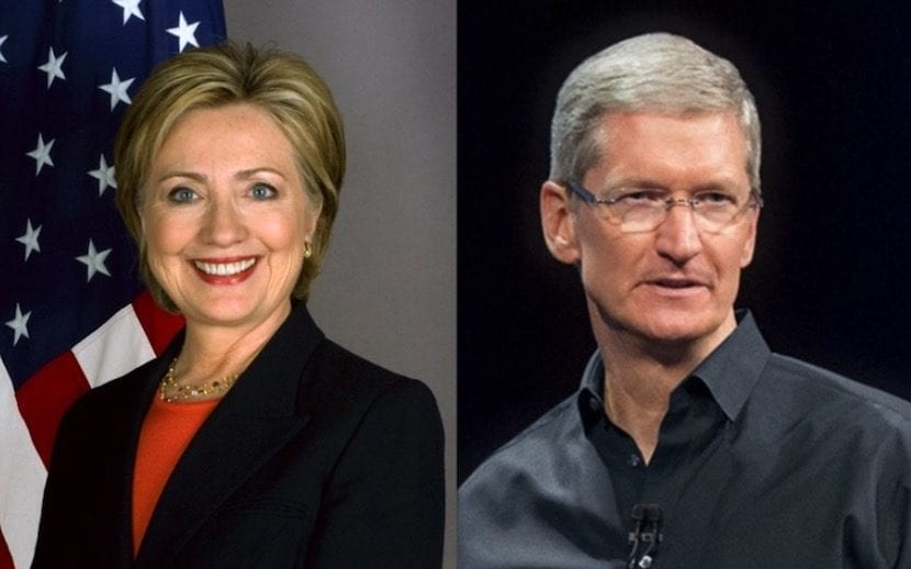 tim-cook-hillary-clinton