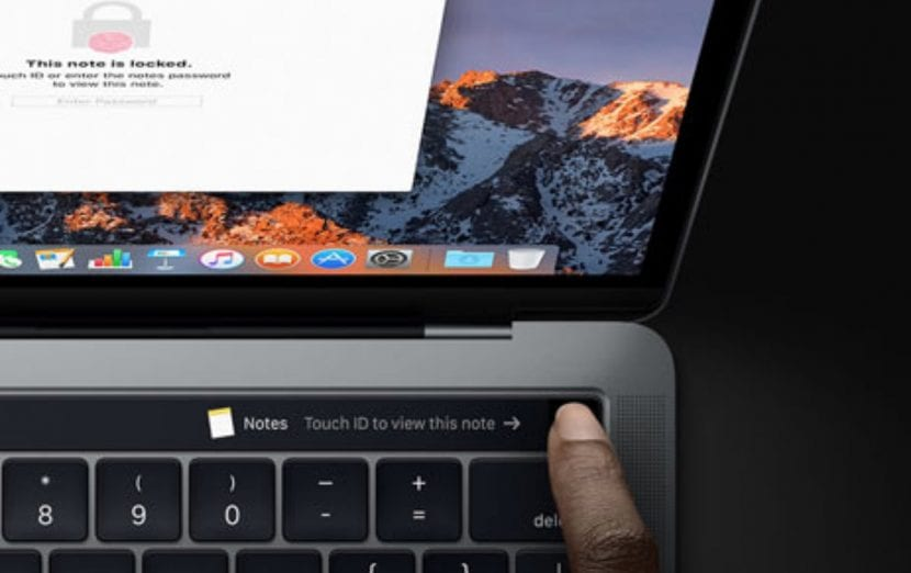 Touch ID en MacBook Pro
