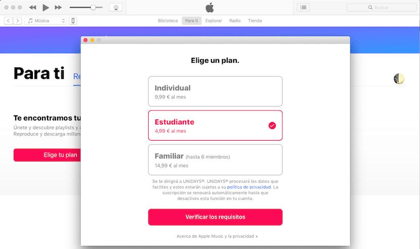 Ya puedes contratar Apple Music a mitad de precio si eres estudiante